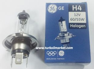 GE H4 12v 60/55w - Far Ampulu Far Ampulleri general_electric