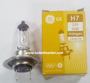 GE H7 12v 55w - Far Ampulu Far Ampulleri general_electric