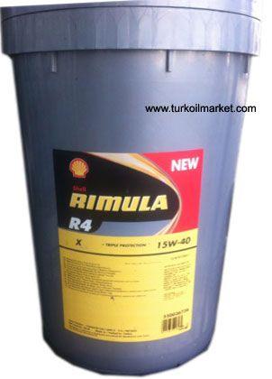 Shell Rimula R4 X 15W 40